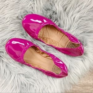 Lucky Brand Erin Emmie Faux Patent Leather Flat